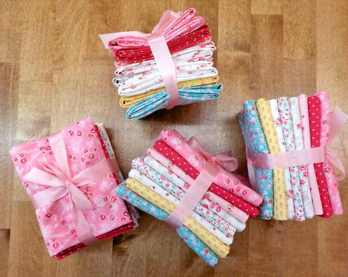 First Romance by Pretty by Hand for moda fabrics...8 fat quarter bundle...exclusive grouping