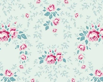 Old Rose Lucy Teal Mist TIL100209-V11...a Tilda Collection designed by Tone Finnanger