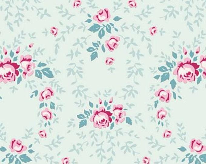 Old Rose Lucy Teal Mist TIL100209-V11...a Tilda Collection designed by Tone Finnanger