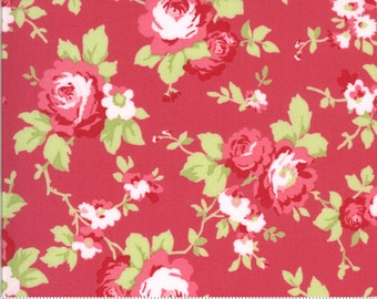 Sophie Main Floral Rosey 18710 13 by Brenda Riddle for Moda Fabrics