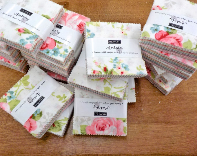 Amberley mini charm pack by Brenda Riddle Designs for Moda Fabrics