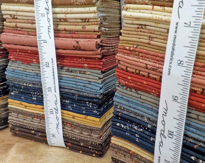 Hickory Road fat quarter bundle by Jo Morton for Moda Fabrics