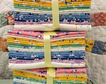 Naptime 30's Fat Quarter bundle by Darlene Zimmerman for Robert Kaufman Fabrics...18 fat quarters and 1 panel