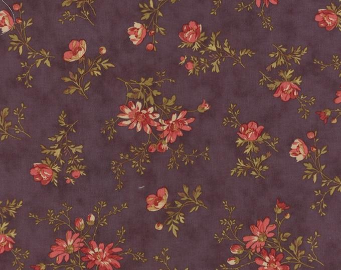 Atelier delicate sprays mauve (purple) by 3 Sisters for moda fabrics