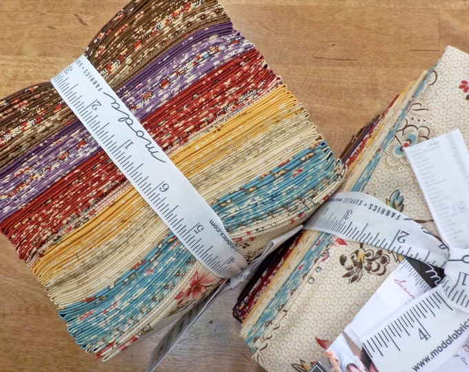 Susanna's Scraps 1830-1875, factory bundle, 38 fat 8ths, fabric designed by Betsy Chutchian