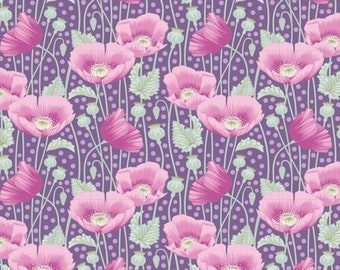 Gardenlife Poppies Lilac..a Tilda Collection designed by Tone Finnanger