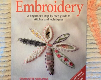 Embroidery, craft workbooks by Charlotte Gerlings for Design Originals