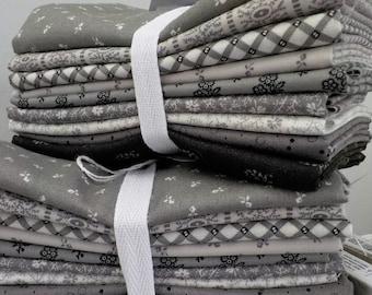 Urban Farmhouse Gatherings exclusive fat quarter bundle by Primitive Gatherings for Moda Fabrics...9 fat quarters