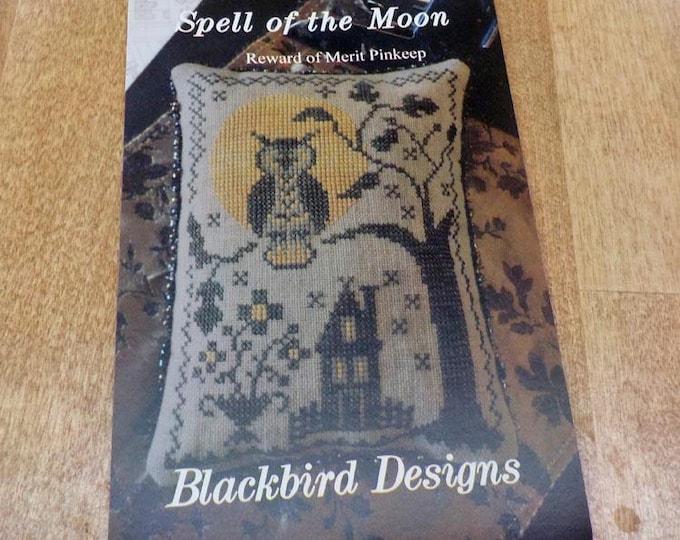 Spell of the Moon, Reward of Merit Pinkeep, by Blackbird Designs...cross-stitch design