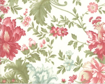 Rue 1800 44220-11 Porcelain floral by 3 Sisters for Moda Fabrics