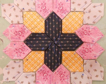 Lucy Boston Patchwork of the Crosses civil war block kit #17