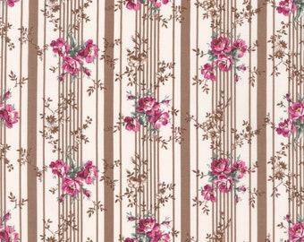 Country Ruru Marie Floral QGRU238016E  by Quilt Gate for Robert Kaufman