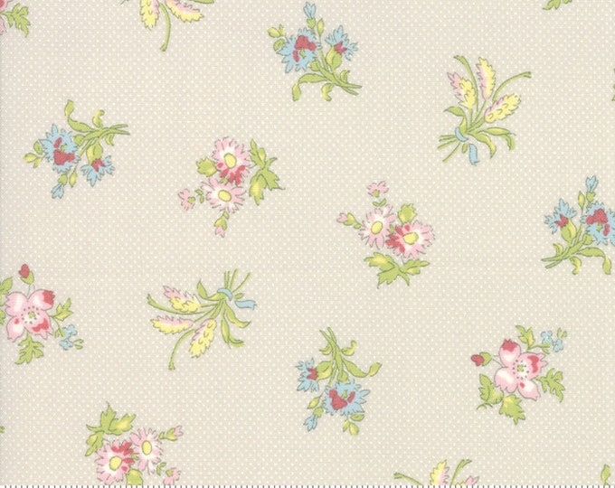 Bramble Cottage 18691-12 Pebble by Brenda Riddle Designs for Moda Fabrics