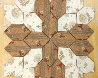 Lucy Boston Patchwork of the Crosses civil war block kit #18