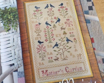 Mother's Garden by Blackbird Designs...cross-stitch design