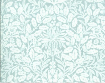 Dover Acorn Damask Mist 18701 17 by Brenda Riddle for Moda Fabrics