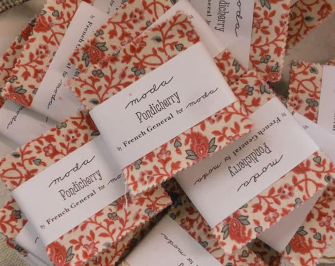 Pondicherry mini charm pack by French General for moda fabrics
