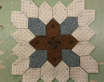 Lucy Boston Patchwork of the Crosses civil war block kit #23