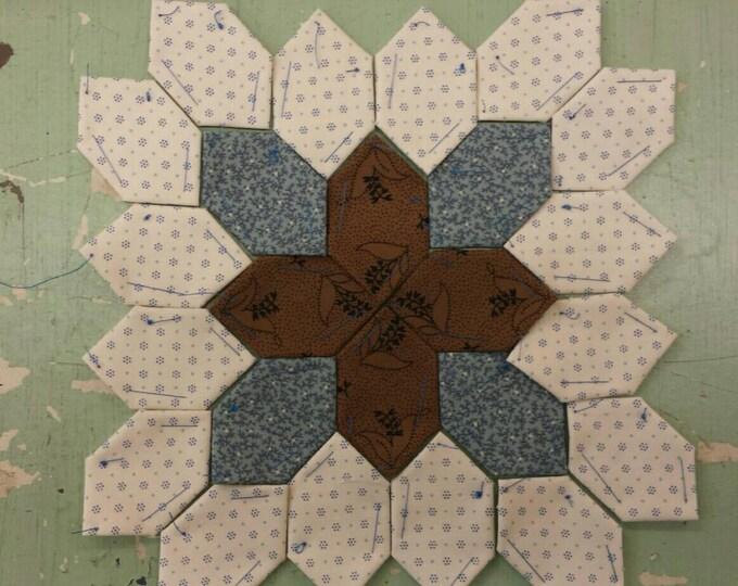 Lucy Boston Patchwork of the Crosses civil war block kit #23