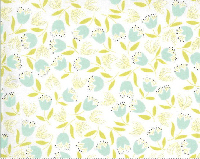 Chantilly Forget Me Not 20346 16 by Joanna Figueroa of Fig Tree Quilts for moda fabrics