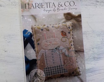 Harietta and Co by Brenda Gervais of With Thy Needle & Thread...cross-stitch design