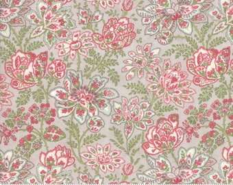 Rue 1800 44222-15 Dove floral by 3 Sisters for Moda Fabrics