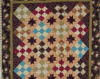 PDF Nutmeg pattern by Mickey Zimmer for Sweetwater Cotton Shoppe