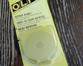 Olfa rotary blade 45mm...5 blade pack, 5 ct