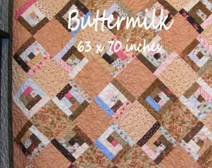 PDF Buttermilk pattern by Mickey Zimmer for Sweetwater Cotton Shoppe