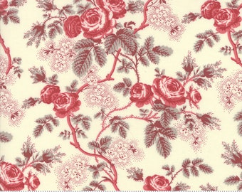 La Rose Rouge Pearl 13880 13 by French General for moda fabrics