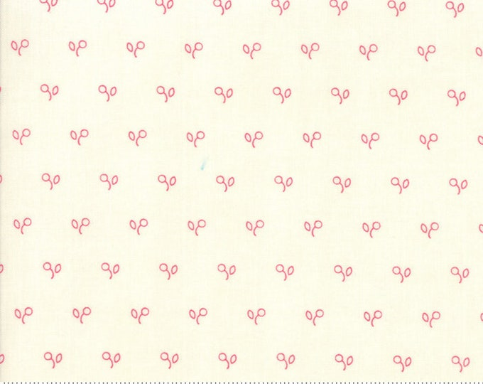 Northport Cream Red 14887 11 by Minick and Simpson for Moda Fabrics