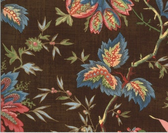 Elinor's Endeavor 1830-1910, Chocolate 31619 12 fabric designed by Betsy Chutchian for Moda Fabrics