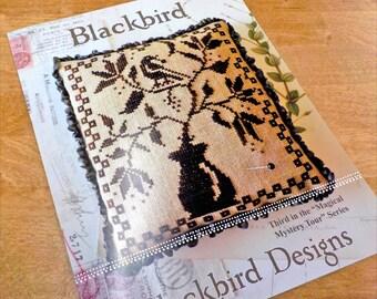 """Blackbird, """"Magical Mystery Tour"""" Series #3, by Blackbird Designs...cross-stitch design"""