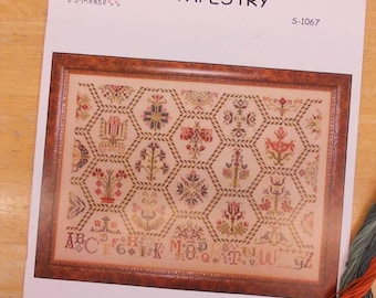 Parchment Tapestry designed by Karen Kluba of Rosewood Manor...cross-stitch design