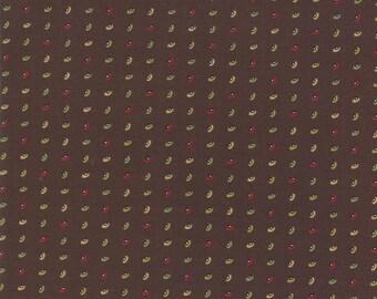 Glad Tidings Dark Brown 38095 16 by Jo Morton for Moda Fabrics