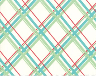 Deer Christmas Marzipan Coolmint 31162 11 by Urban Chiks for Moda Fabrics
