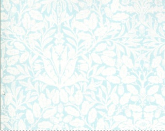 Dover Acorn Damask Sea Glass 18701 16 by Brenda Riddle for Moda Fabrics