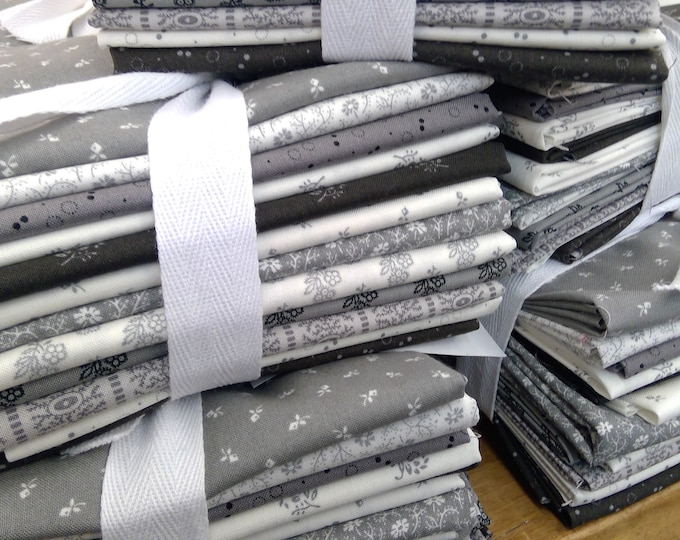 Urban Farmhouse Gatherings exclusive fat quarter bundle by Primitive Gatherings for Moda Fabrics...12 fat quarters