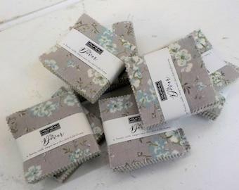 Dover mini charm pack by Brenda Riddle for moda fabrics