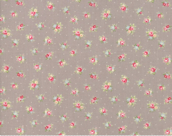 Amberley 18671 16 pebble by Brenda Riddle Designs for Moda Fabrics
