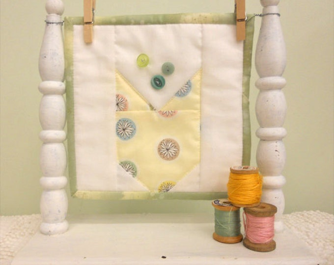 April Tulip, a Sweet Delight, complete kit...pattern designed by Mickey Zimmer for Sweetwater Cotton Shoppe