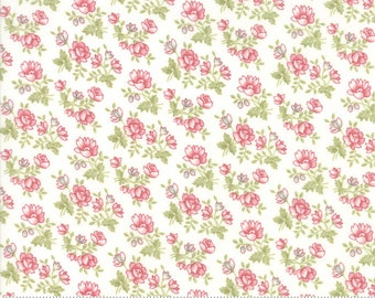 Rue 1800 44225-11 Porcelain floral by 3 Sisters for Moda Fabrics
