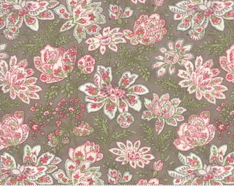 Rue 1800 44222-14 Cobblestone floral by 3 Sisters for Moda Fabrics
