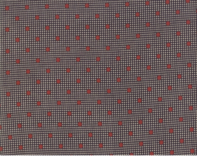 Shelbyville Black Red 38073 28 by Jo Morton for Moda Fabrics