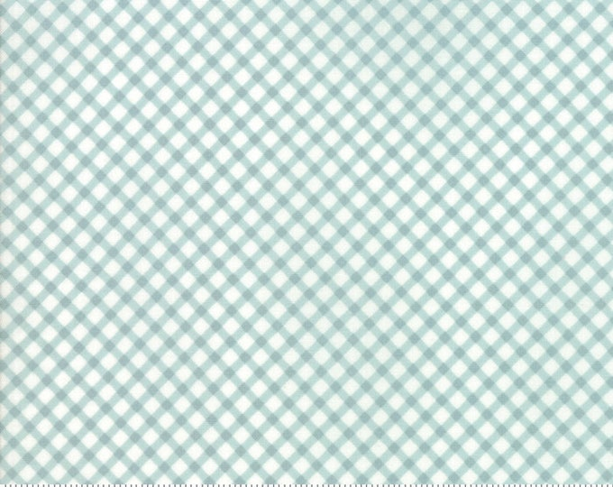 Amberley 18676 12 hometown sky check by Brenda Riddle Designs for Moda Fabrics