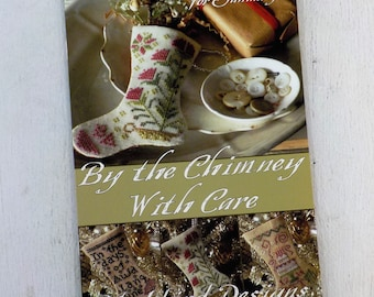 By the Chimney With Care, 3 Stockings for January, by Blackbird Designs...cross-stitch design
