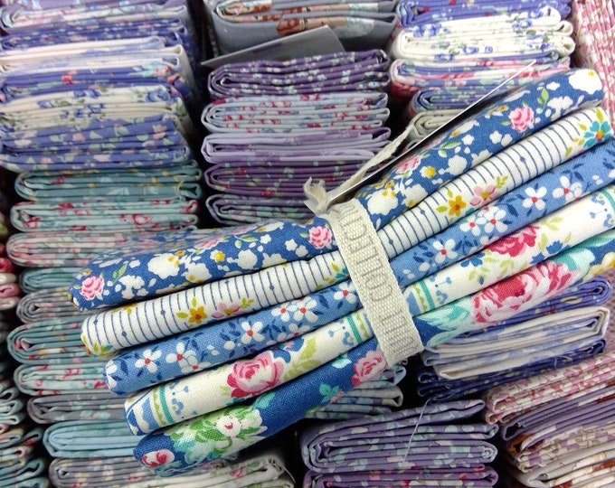 Apple Butter blues...5 fat quarters...a Tilda Collection designed by Tone Finnanger