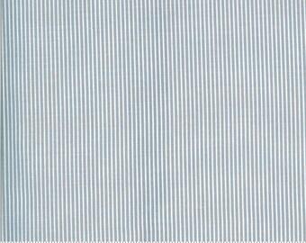 Folktale Skinny Stripes Sky 5125 17 by Lella Boutique for Moda Fabrics