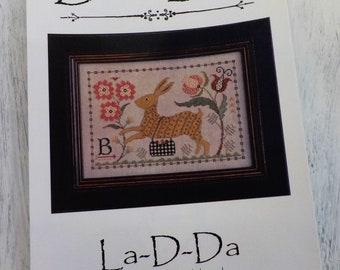 B is for Bunny by La-D-Da...cross stitch pattern