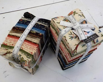 Elinor's Endeavor 1830-1910, factory bundle, 40 fat quarters, fabric designed by Betsy Chutchian